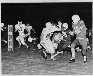 Primary view of object titled '[North Texas vs. Brigham Young University in 1961]'.