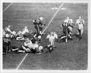 Primary view of object titled '[North Texas vs. Wichita State University, Homecoming 1963]'.