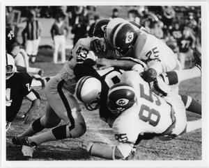Primary view of object titled '[North Texas vs. Wichita State University Football Game, 1968]'.