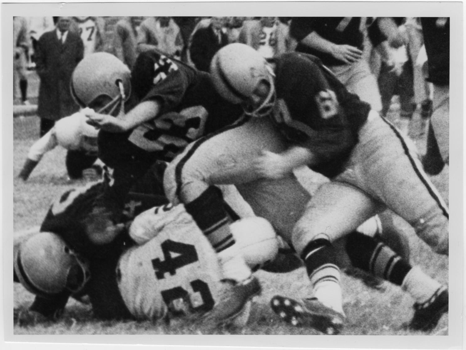 [North Texas Football Game against Wichita State University, early 1960s]                                                                                                      [Sequence #]: 1 of 2