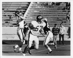 Primary view of object titled '[North Texas Football Game Against Wichita State University, 1970]'.