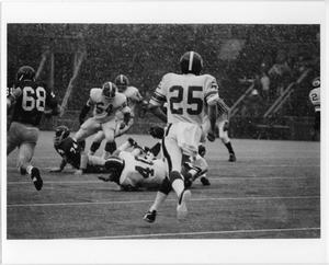 Primary view of object titled '[North Texas Football Game Against Cincinnati, 1971]'.