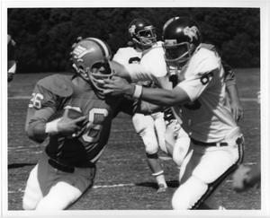 Primary view of object titled '[North Texas Football Game Against Drake University, 1973]'.