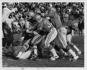 Primary view of object titled '[North Texas Football Game Against Wichita State University, 1973]'.