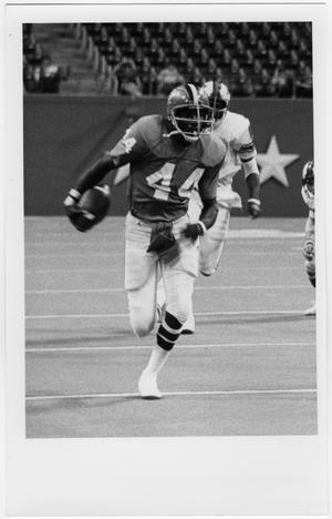Primary view of object titled '[North Texas Football Game Against Southern Methodist University, 1976]'.