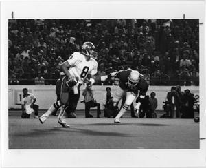 Primary view of object titled '[North Texas Football Game against University of Texas, 1978]'.