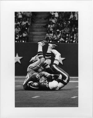 Primary view of object titled '[North Texas Football Game against Oklahoma State University, 1978]'.