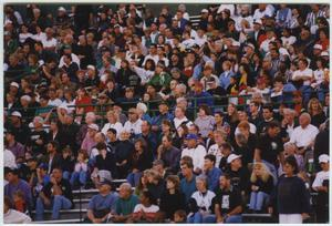 Primary view of object titled '[North Texas Football Fans]'.