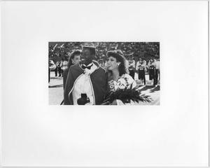 Primary view of object titled '[North Texas Homecoming King and Queen, 1986]'.