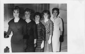 Primary view of object titled '[1960 North Texas Homecoming Queen candidates #1]'.