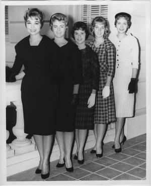 Primary view of object titled '[1960 North Texas Homecoming Queen candidates #3]'.