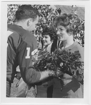 Primary view of object titled '[1962 North Texas Homecoming King and Queen]'.