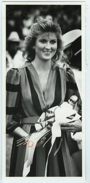 Primary view of object titled '[1983 North Texas Homecoming Queen]'.
