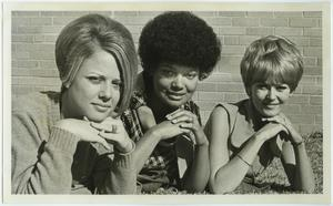 Primary view of object titled '[1969 North Texas Homecoming Queen candidates]'.