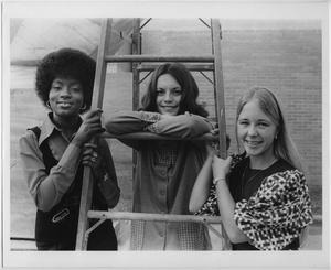 Primary view of object titled '[1972 North Texas Homecoming Queen candidates #1]'.