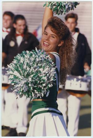 Primary view of object titled '[North Texas State University Cheerleaders]'.