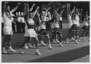 Primary view of object titled '[University of North Texas Cheerleaders]'.
