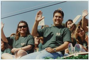 Primary view of object titled '[North Texas Homecoming Parade, 1992]'.