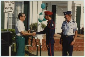 Primary view of object titled '[North Texas Homecoming Parade Awards, 1992]'.