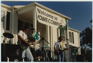 Primary view of object titled '[North Texas Homecoming Event, 1992]'.