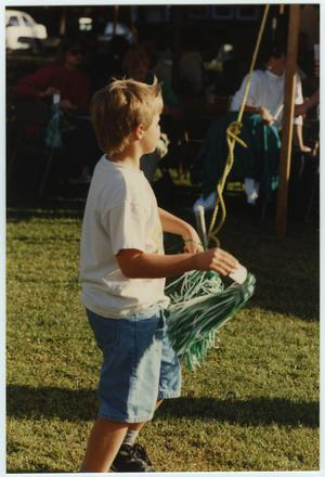 Primary view of object titled '[North Texas Homecoming Barbecue, 1992]'.