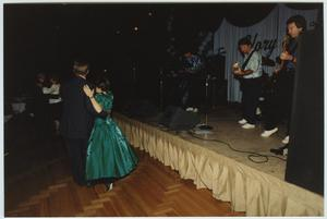 Primary view of object titled '[North Texas Homecoming Dance, 1992]'.