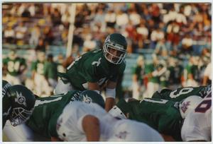 Primary view of object titled '[North Texas Homecoming Game, 1992]'.