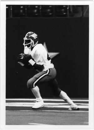 Primary view of object titled '[North Texas Football Player]'.