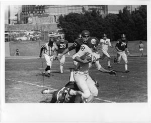 Primary view of object titled '[NTSU Intramural Football Game]'.