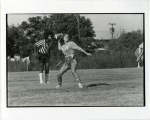 Primary view of object titled '[NTSU Women's Intramural Football Game]'.