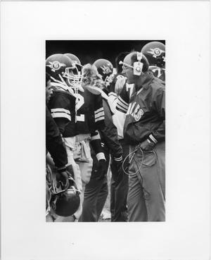Primary view of object titled '[North Texas Football Sidelines]'.
