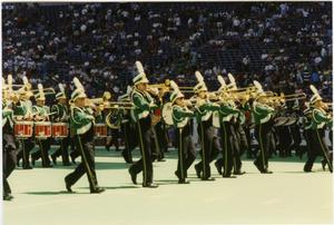 Primary view of object titled '[North Texas Football Halftime Show]'.
