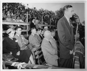 Primary view of object titled '[North Texas Football Spectators, 1952]'.