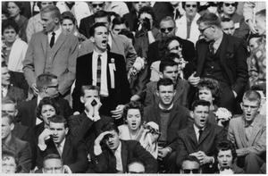 Primary view of object titled '[North Texas Football Spectators]'.