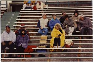 Primary view of object titled '[North Texas Football Spectators, 1992]'.