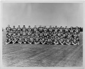 Primary view of object titled '[North Texas Football Team, 1963]'.