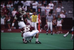Primary view of object titled '[North Texas vs. Texas A&M, 1991]'.