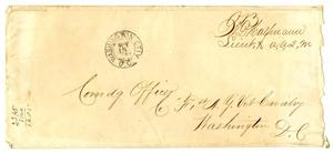 Primary view of object titled '[Envelope, November 15]'.