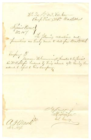 Primary view of object titled '[Letter from R. F. Taylor, December 13, 1864]'.