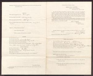 Primary view of object titled '[Quarterly Report on the Condition and Quality of Ordnance Stores, September 30, 1864]'.