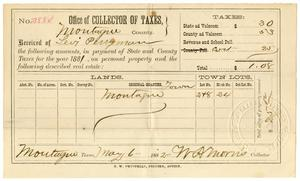 Primary view of [Receipt for taxes paid, May 6, 1882]