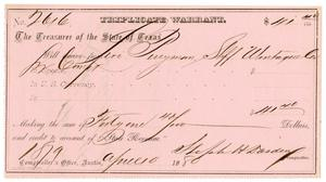 Primary view of [Triplicate Warrant, April 10, 1880]