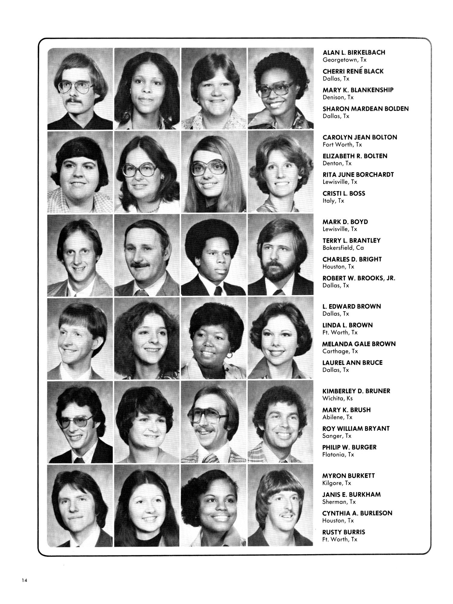 Wings, Yearbook of North Texas State University, [1978]                                                                                                      14