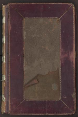 Primary view of object titled '[Bar Docket, Criminal County Court, Cooke County, 1893-1897]'.