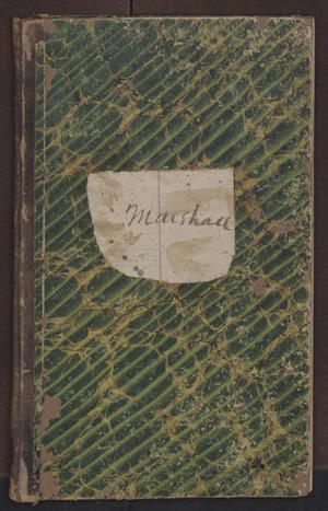 Primary view of [Sheriff's Fee Book, Cooke County, 1873-1874]
