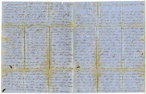 Primary view of [Letter from Charles B. Moore to Elvira D. Moore, July 7, 1850]