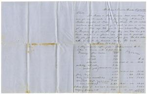 Primary view of object titled '[Letter from Henry S. Moore to Charles B. Moore, July 22, 1860]'.