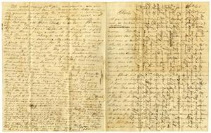 Primary view of object titled '[Letter from Josephus Moore to Charles Moore, January 30, 1865]'.