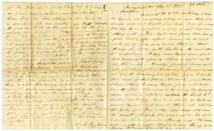 Primary view of object titled '[Letter from Charles Moore to Josephus Moore, April 15, 1865]'.