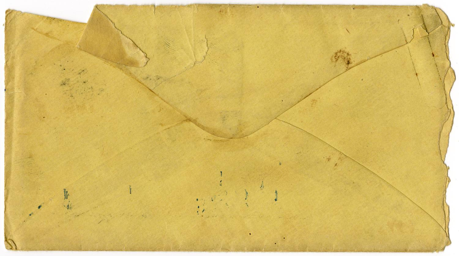[Letter from Julia Rucker to Charles Moore, December 9, 1865]                                                                                                      [Sequence #]: 4 of 4